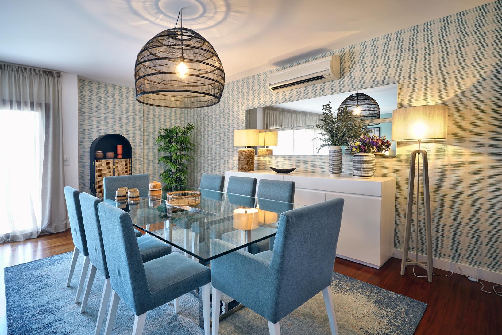 Sala de jantar by Mint Design